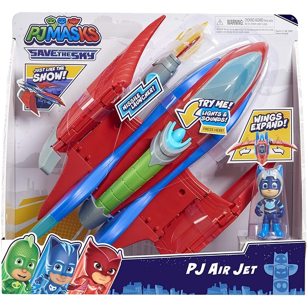 Air Jet (PJ Masks) Playset