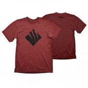 Gears Of War 4 Men's Swarm Icon X-Large Dark Red T-Shirt