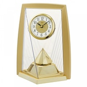 Seiko QXN231G One Way Rotating Pendulam Clock Gold
