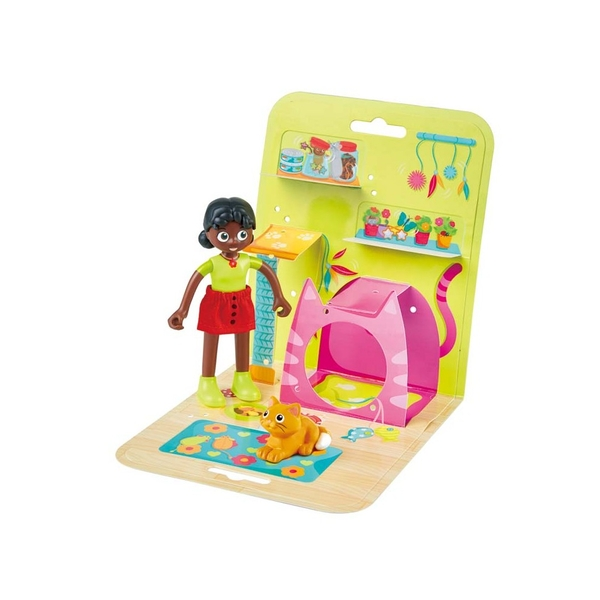 Hape Dolls House & Furniture Display Playset