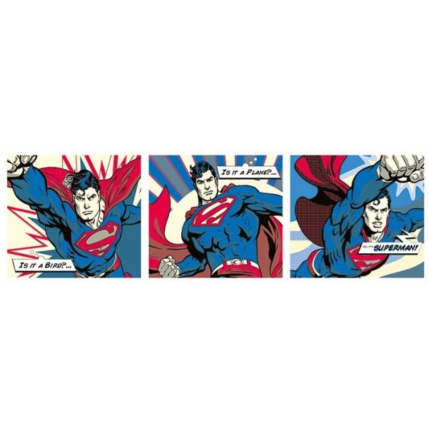 Superman Pop Art Slim Poster