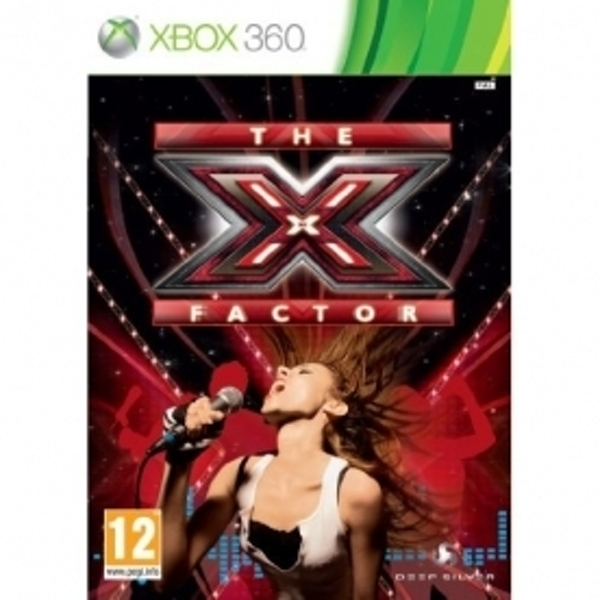 Ex-Display The X Factor Game Xbox 360 Used - Like New