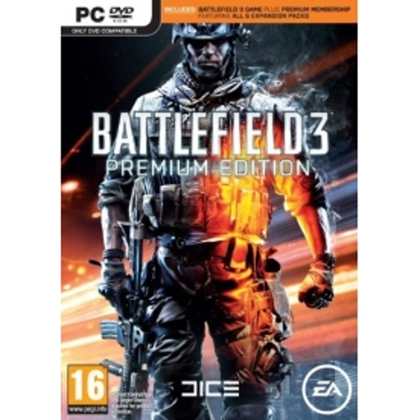 Battlefield 3 Premium Edition Game + Premium Membership PC