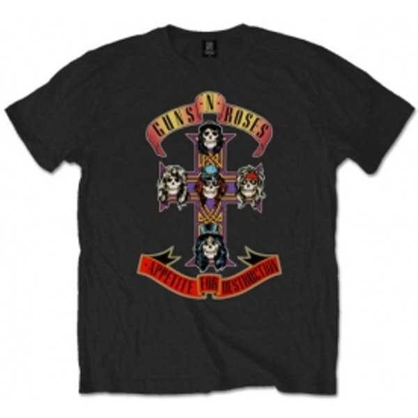 Guns N Roses Appetite For Destruction T Shirt: X Large