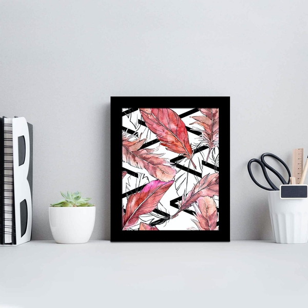 SCT-078 Multicolor Decorative Framed MDF Painting