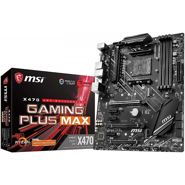 MSI X470 Gaming Plus Max AMD X470 Socket AM4 ATX