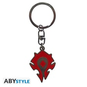 World Of Warcraft- Horde Metal Keyring