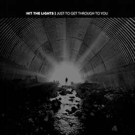 Hit The Lights - Just To Get Through To You Half Clear / Half Sea Blue Vinyl New