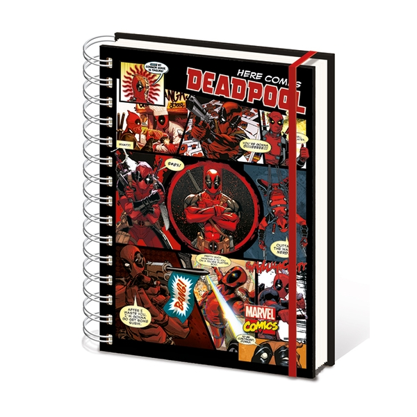 Deadpool - Here Comes Deadpool Notebook