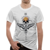 Crimes Of Grindelwald - Gellert Skull Men's Medium T-shirt - White