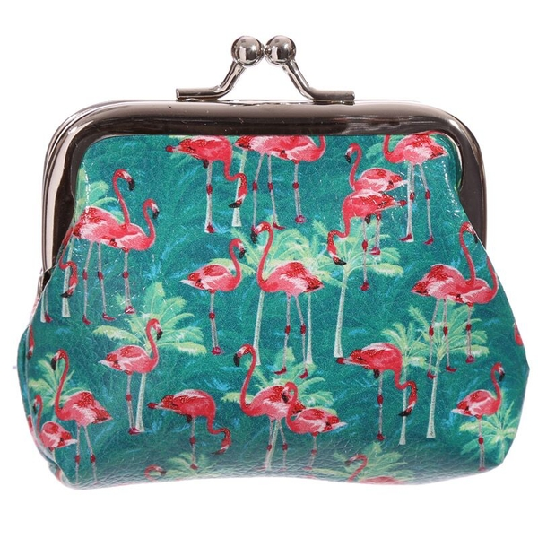 Fun Tic Tac Flamingo Purse