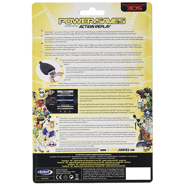 Datel Action Replay Powersaves (Nintendo 2DS / 3DS XL / 3DS) - Image 5