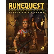 RuneQuest RPG Roleplaying in Glorantha: Gamemaster Screen Pack