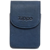 Zippo Leather Cigarette Case Blue
