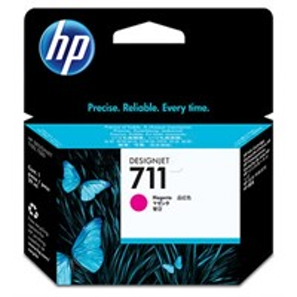 HP CZ135A (711) Ink cartridge magenta, 29ml, Pack qty 3