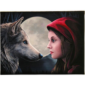 Small Moonstruck Canvas Picture by Lisa Parker