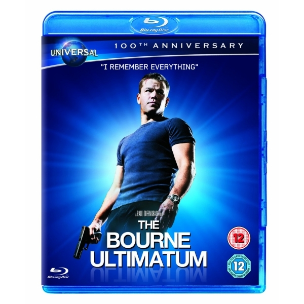 The Bourne Ultimatum Augmented Reality Edition Blu-ray
