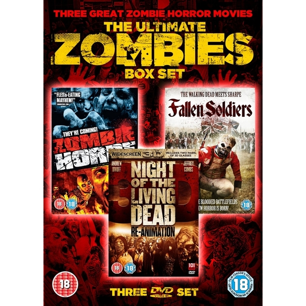 The Ultimate Zombies Box Set DVD