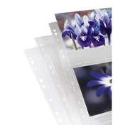 Hama Photo Sleeves, DIN A4, for 2-4 Photos in 13x18 cm Format, clear, 10 pcs.