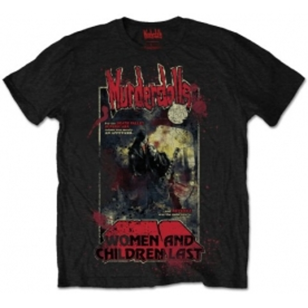 Murderdolls 80s Horror Poster Mens Black T Shirt: X Large