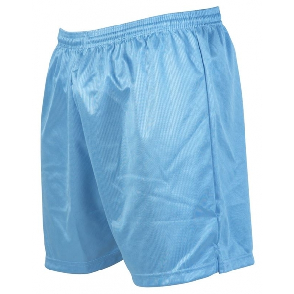 Precision Micro-stripe Football Shorts 34-36 inch Sky Blue