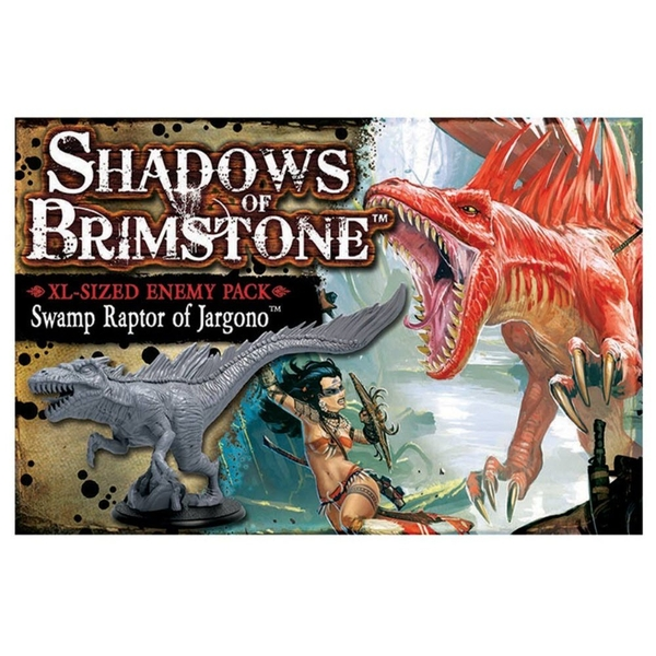 Shadows of Brimstone Swamp Raptor of Jargono- XL Enemy Pack Expansion