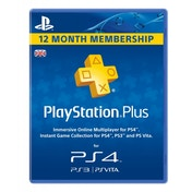 PlayStation Plus Card PSN UK 1 Year (365 Days) Subscription Card PS3 & PS Vita & PS4 Share