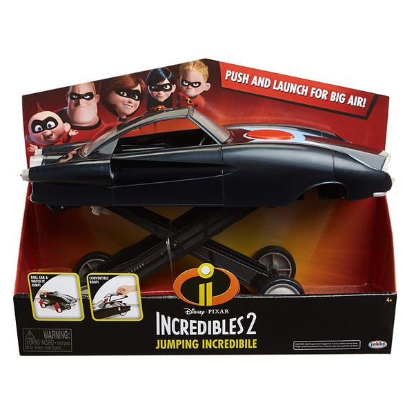 Image of Incredibles 2 Jumping Incredible Vehicle Toy