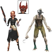NECA Bioshock Splicer Figure 2 Pack Ladysmith and Crawler