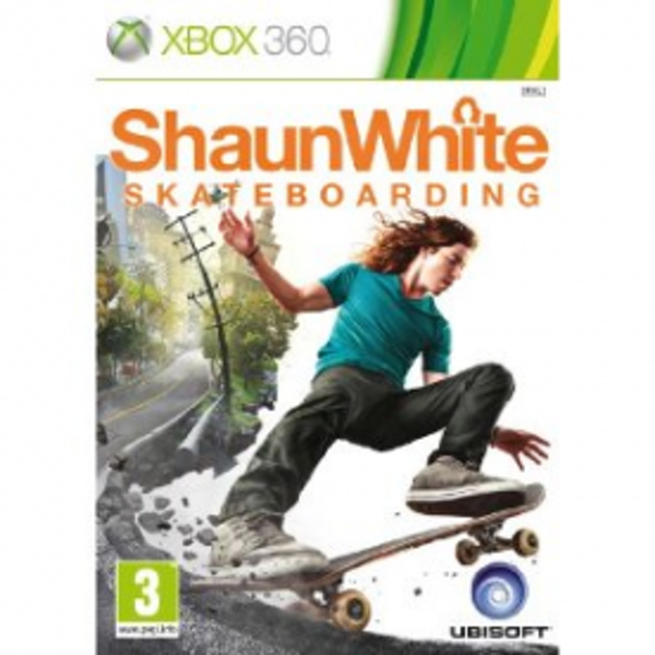 Shaun White Skateboarding Game Xbox 360