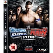 WWE Smackdown vs Raw 2010 Game PS3