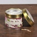 Wild Fig & Cassis (Fragrant Orchard Collection) Gold Tin Candle - Image 2
