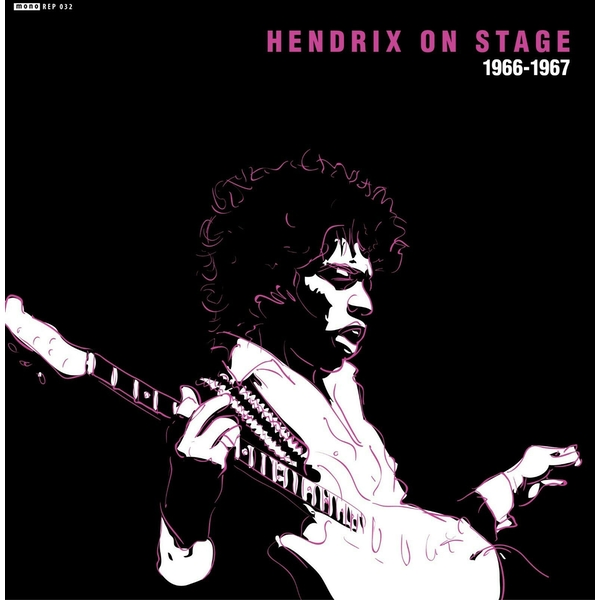 Jimi Hendrix ‎– Hendrix On Stage 1966-1967 Vinyl