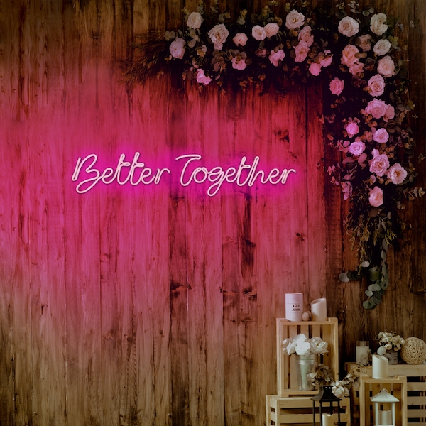 Better Together - Pink Pink Wall Lamp