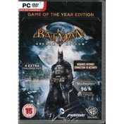Batman Arkham Asylum Game Of The Year Edition (GOTY) Game PC