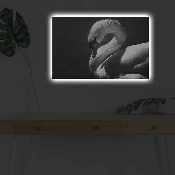 4570DHDACT-051 Multicolor Decorative Led Lighted Canvas Painting