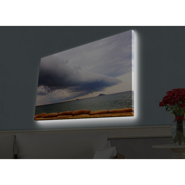 4570HDACT-017 Multicolor Decorative Led Lighted Canvas Painting