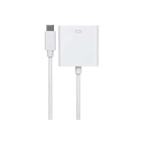 Maplin USB-C 3.1 Gen 1 to VGA Adapter supports 1080p 17cm cable