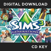 The Sims 3 Generations PC CD Key Download for Origin