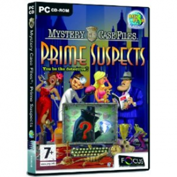 Mystery Case Files Prime Suspects Game PC