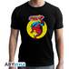 Marvel - Spdm Vintage Men's Small T-Shirt - Black - Image 2