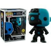 Cyborg Glow In The Dark (Justice League) Funko Pop! Vinyl Figure #95