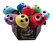 Slither.io Assorted Styles Bendable 8 Inch Plush Toy - 1 Supplied