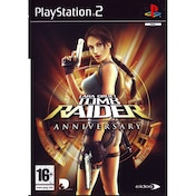 Lara Croft Tomb Raider Anniversary Game PS2