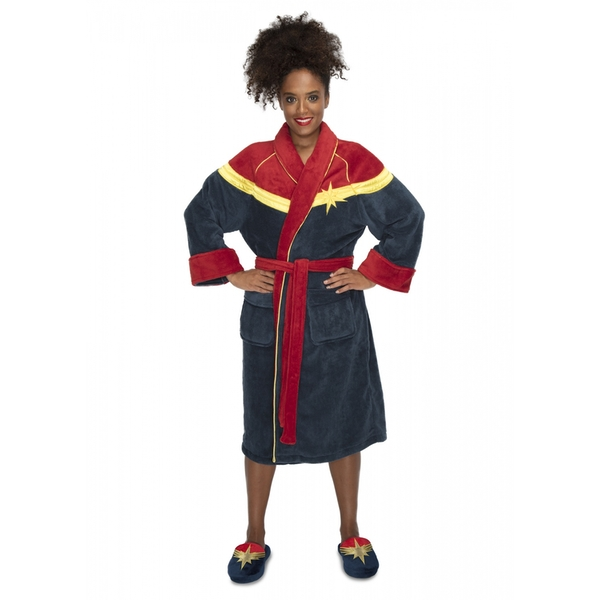 Captain Marvel Ladies Robe - Image 1