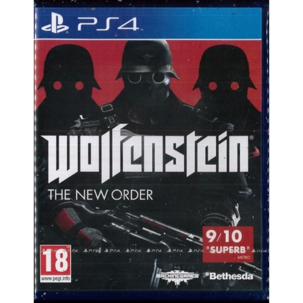 Wolfenstein The New Order Game PS4 - Image 1