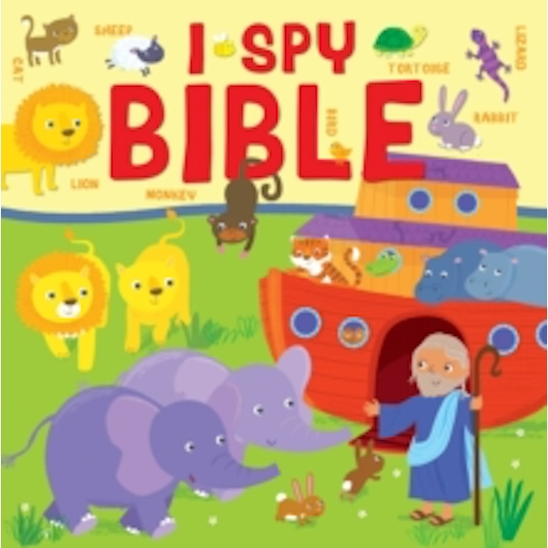 I Spy Bible : A Picture Puzzle Bible for the Very Young