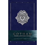 Where Justice Is Born (Gotham) Hardcover Ruled Journal