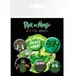 Rick and Morty Pickle Rick Badge Pack - Image 2