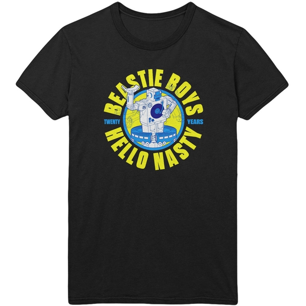 The Beastie Boys - Nasty 20 Years Men's Small T-Shirt - Black